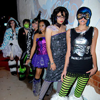 Midnight In A Winter Horrorland Fashion Show